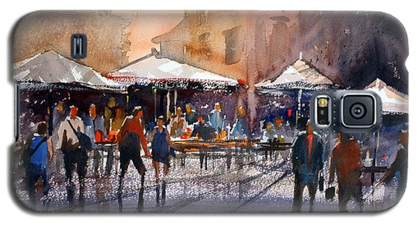 Outdoor Market - Rome Galaxy S5 Case