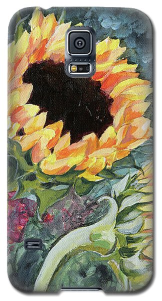 Outdoor Sunflowers Galaxy S5 Case