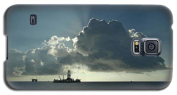 Outer Continental Shelf Oilfield  Galaxy S5 Case