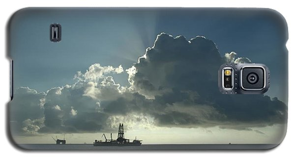 Outer Continental Shelf Oilfield  Galaxy S5 Case