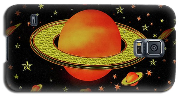 Outer Harvest Moons Galaxy S5 Case