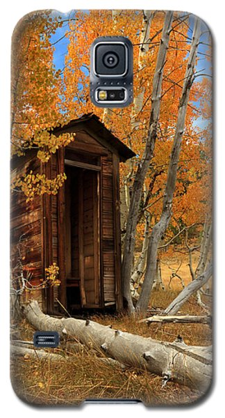 Outhouse In The Aspens Galaxy S5 Case by James Eddy