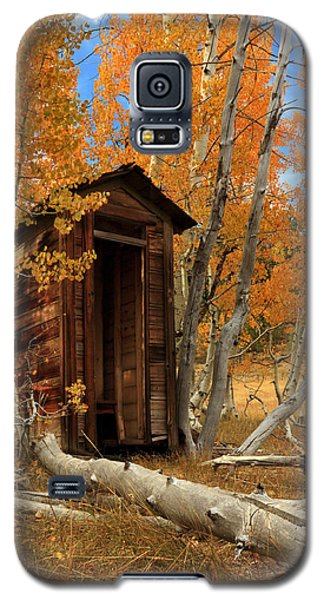 Outhouse In The Aspens Galaxy S5 Case