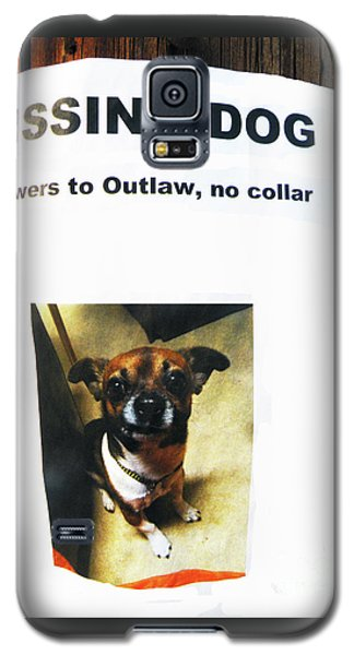 Galaxy S5 Case featuring the photograph Outlaw by Joe Jake Pratt