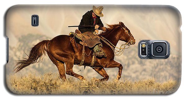 Outlaw Kelly Western Art By Kaylyn Franks Galaxy S5 Case