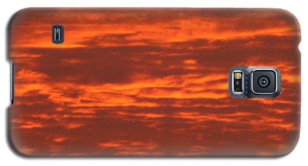 Outrageous Orange Sunrise Galaxy S5 Case
