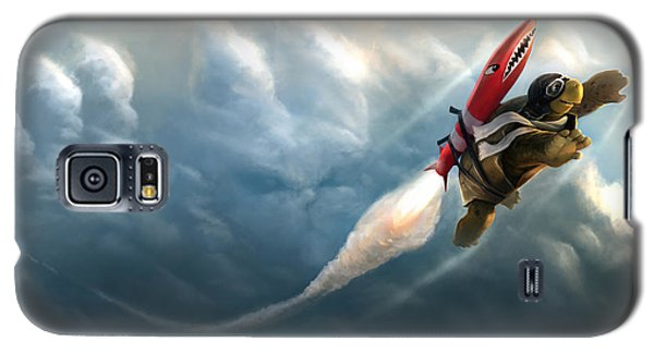 Outrunning The Clouds Galaxy S5 Case