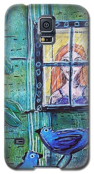 Outside My Window Galaxy S5 Case