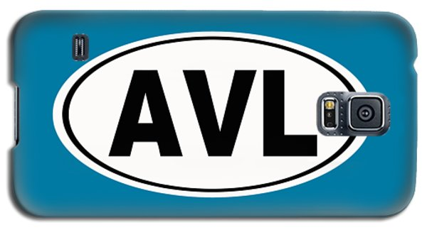 Galaxy S5 Case featuring the photograph Oval Avl Asheville North Carolina Home Pride by Keith Webber Jr