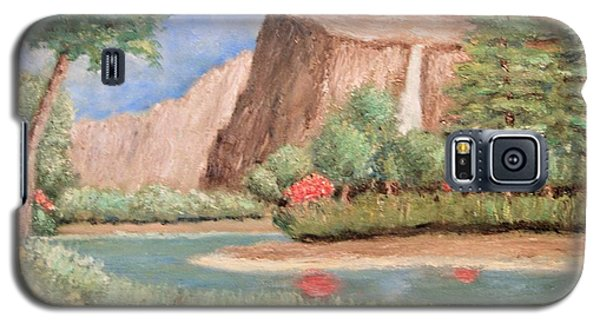 Over The Cliff Galaxy S5 Case
