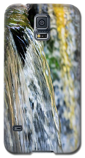 Over The Edge Visions Of Gold Galaxy S5 Case