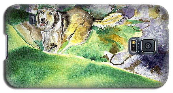 Over The Hill With Shep Galaxy S5 Case