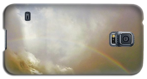 Galaxy S5 Case featuring the photograph Over The Rainbow by Deborah Moen