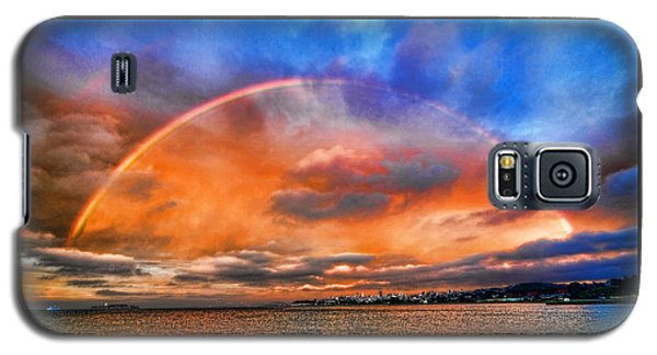 Over The Top Rainbow Galaxy S5 Case