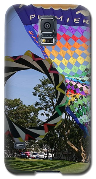 Galaxy S5 Case featuring the photograph Over Under Sideways Down by Marie Neder