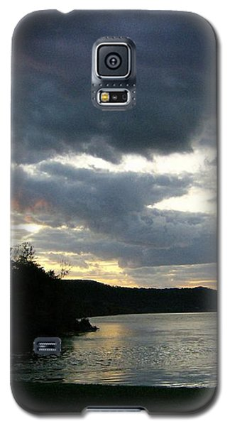 Galaxy S5 Case featuring the photograph Overcast Morning Along The River by Skyler Tipton