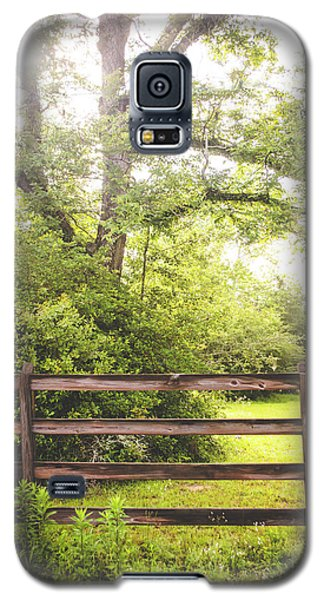 Galaxy S5 Case featuring the photograph Overgrown by Shelby Young