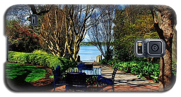 Overlook Cafe Galaxy S5 Case by Diana Mary Sharpton