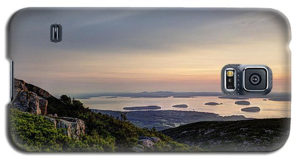 Galaxy S5 Case featuring the photograph Overlooking Bar Harbor by Gary Smith