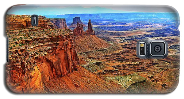 Overlooking Canyonlands National Park    Moab Utah Galaxy S5 Case