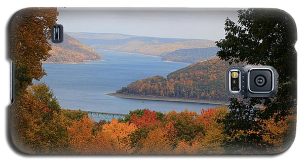 Overlooking Kinzua Lake Galaxy S5 Case