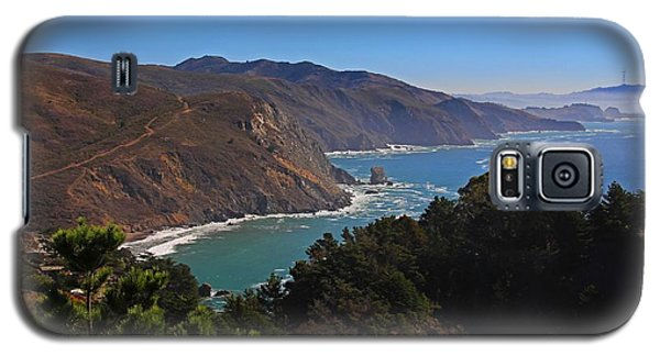 Overlooking Marin Headlands Galaxy S5 Case