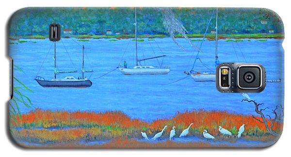 Overnight In Beaufort Galaxy S5 Case by Dwain Ray