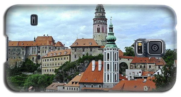Overview Of Cesky Krumlov Galaxy S5 Case by Kirsten Giving