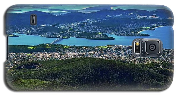 Overview Of Hobart Tasmania Galaxy S5 Case