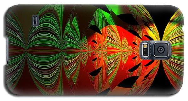 Art Green, Red, Black Galaxy S5 Case