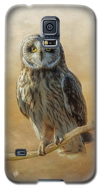 Galaxy S5 Case featuring the photograph Owl  by Angie Vogel