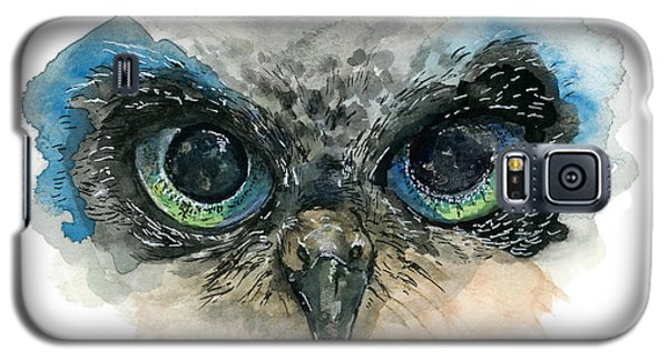 Owl Eyes Galaxy S5 Case
