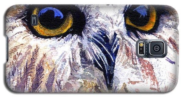 Owl Galaxy S5 Case