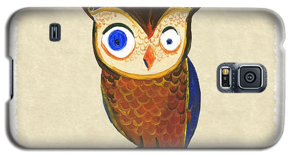 Owl Galaxy S5 Case by Kristina Vardazaryan
