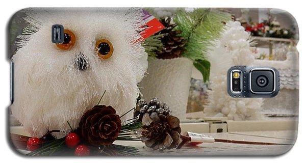Owl On The Shelf Galaxy S5 Case