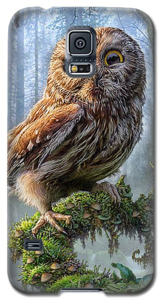 Owl Perch Galaxy S5 Case