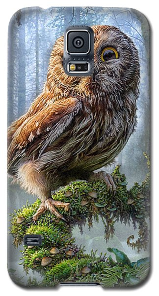 Owl Perch Galaxy S5 Case by Phil Jaeger