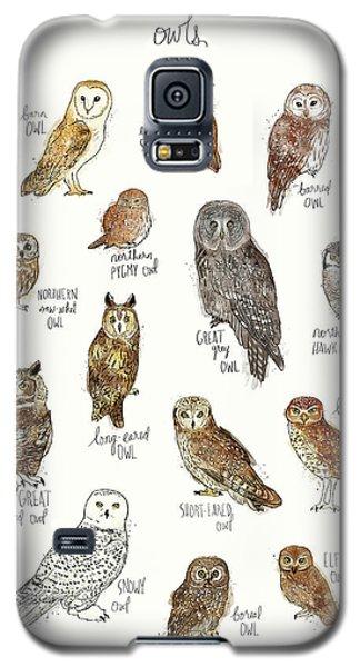 Owls Galaxy S5 Case by Amy Hamilton