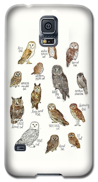 Elf Galaxy S5 Case - Owls by Amy Hamilton