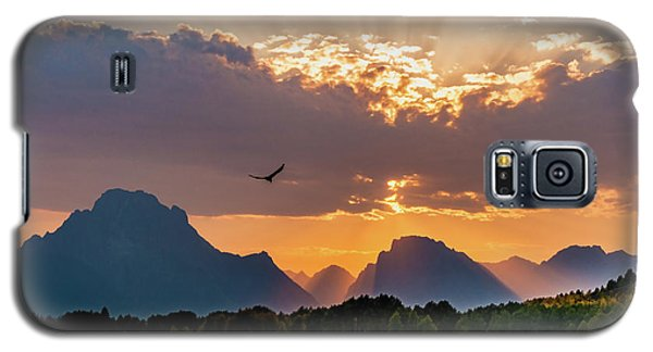 Oxbow At Sunset Galaxy S5 Case by Mary Hone