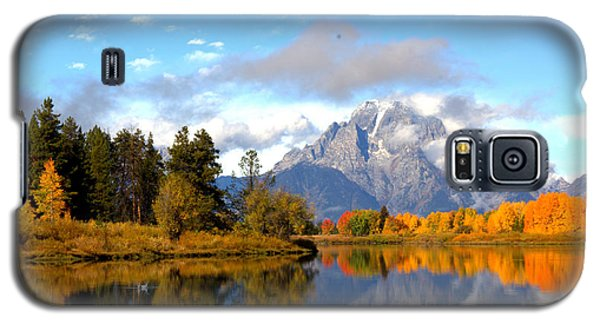 Mt Moran At Oxbow Bend Galaxy S5 Case