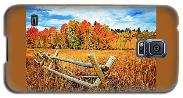 Oxbow Bend Fall Color Galaxy S5 Case