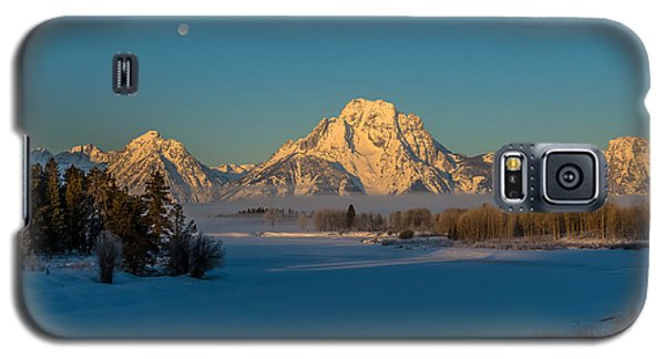 Oxbow Bend In Late Winter Galaxy S5 Case by Yeates Photography