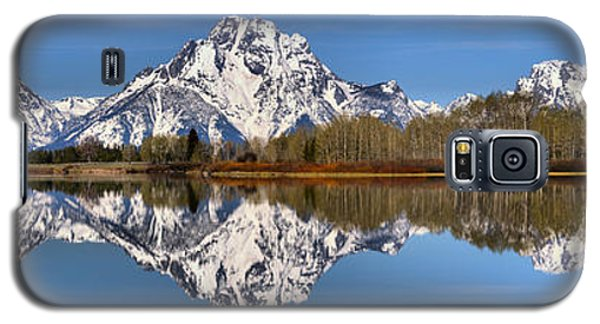 Oxbow Snake River Reflections Galaxy S5 Case by Adam Jewell