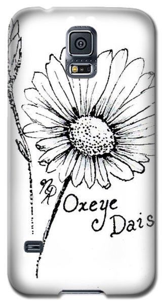 Oxeye Daisy Galaxy S5 Case