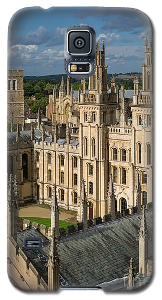 Galaxy S5 Case featuring the photograph Oxford Spires by Brian Jannsen