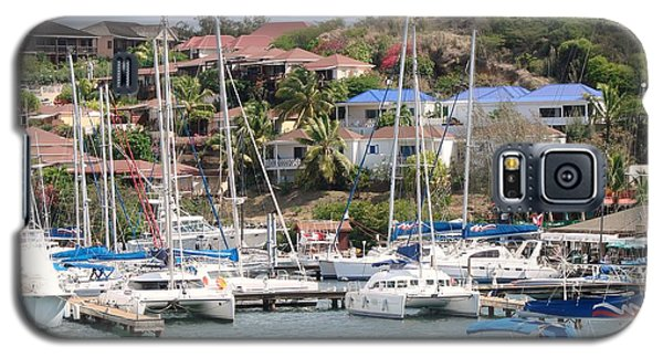 Galaxy S5 Case featuring the photograph Oyster Bay Marina by Margaret Bobb