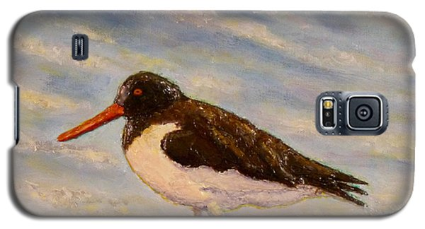 Galaxy S5 Case featuring the painting Oyster Catcher by Joe Bergholm