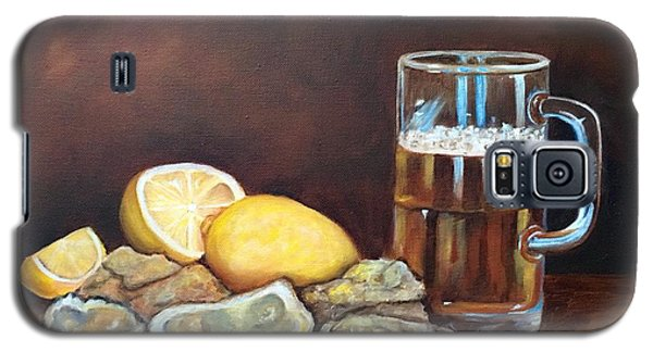 Oysters And Beer Galaxy S5 Case by Susan Dehlinger