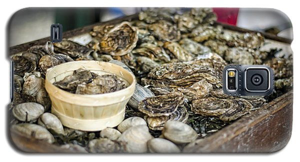 Oysters At The Market Galaxy S5 Case